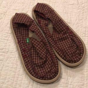 Sanuk Men's slip on Shoes NWOT